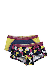 CR7 Girls hipster 2-pack - GRAPHIC