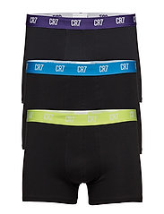 CR7 Basic, Trunk, 3-pack - BLACK
