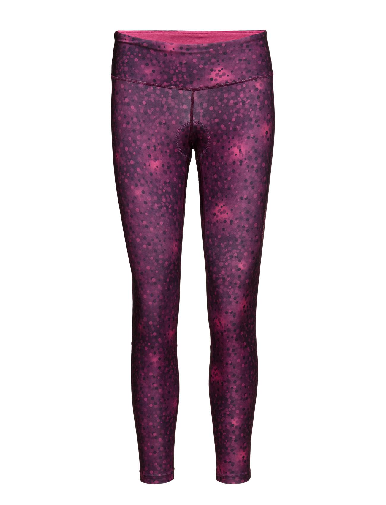 Craft Pulse Tights W P Blur Deep Craft Trænings leggings til Kvinder i