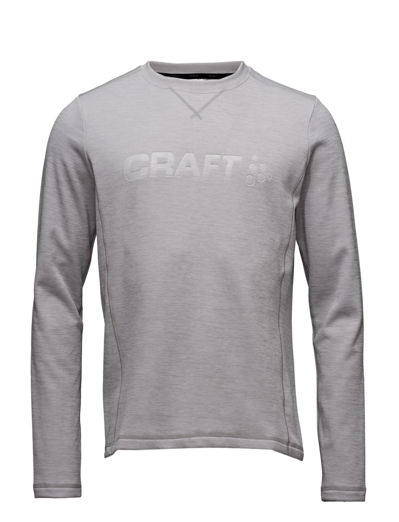 Craft Gain Sweatshirt M Deep Craft Sports toppe til Mænd i Grey Melange