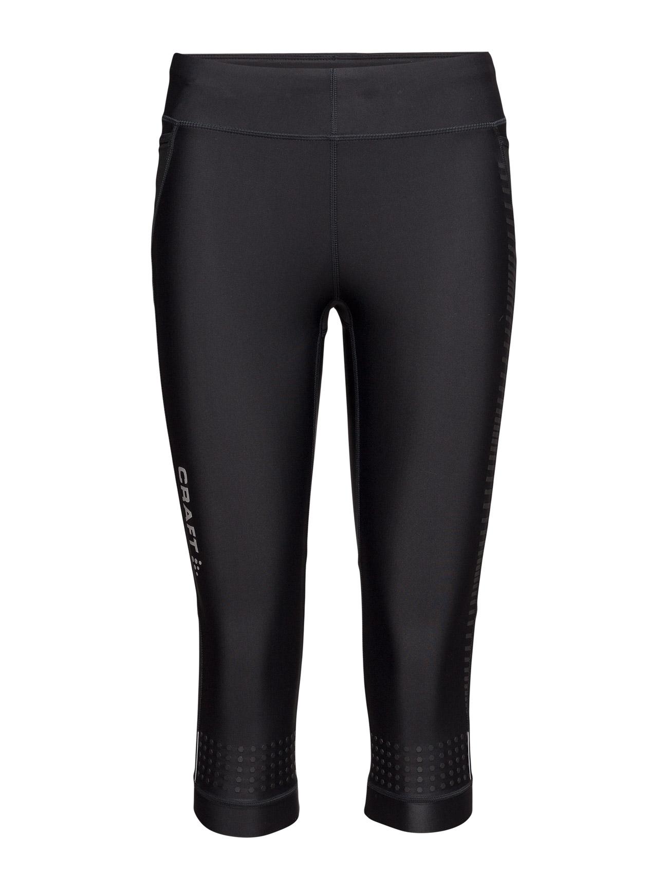 Grit Capri Craft Trænings leggings til Damer i Sort