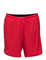 CRAFT JOY RELAXED SHORTS 2-1 M DEEP - BRIGHT RED