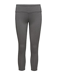 HABIT TIGHTS  - DK GREY MELANGE
