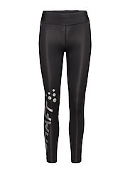 DELTA 2.0 LONG TIGHTS W - BLACK/SILVER REFLECTIVE