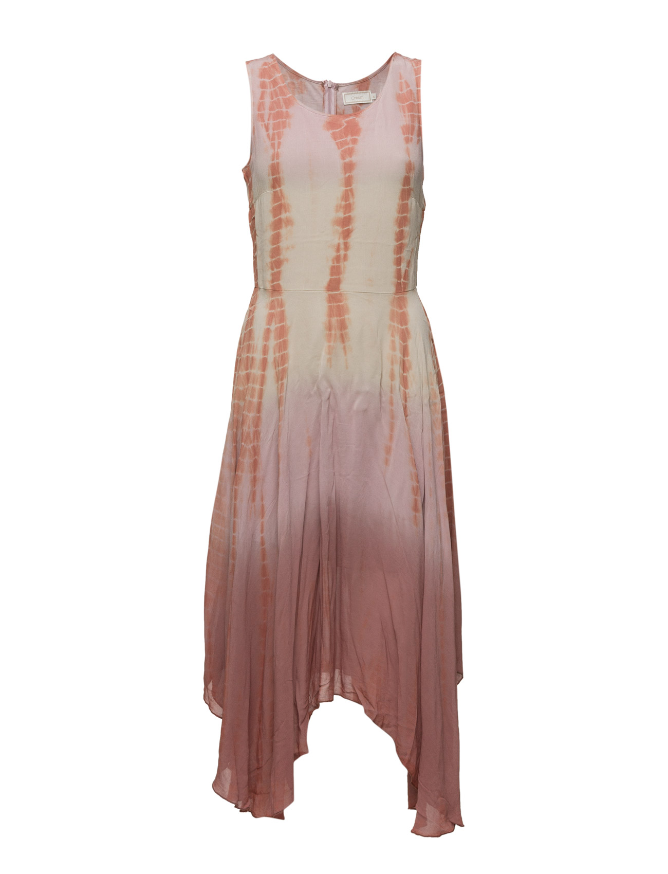 Calie Dress Cream Knæ-længde & midi