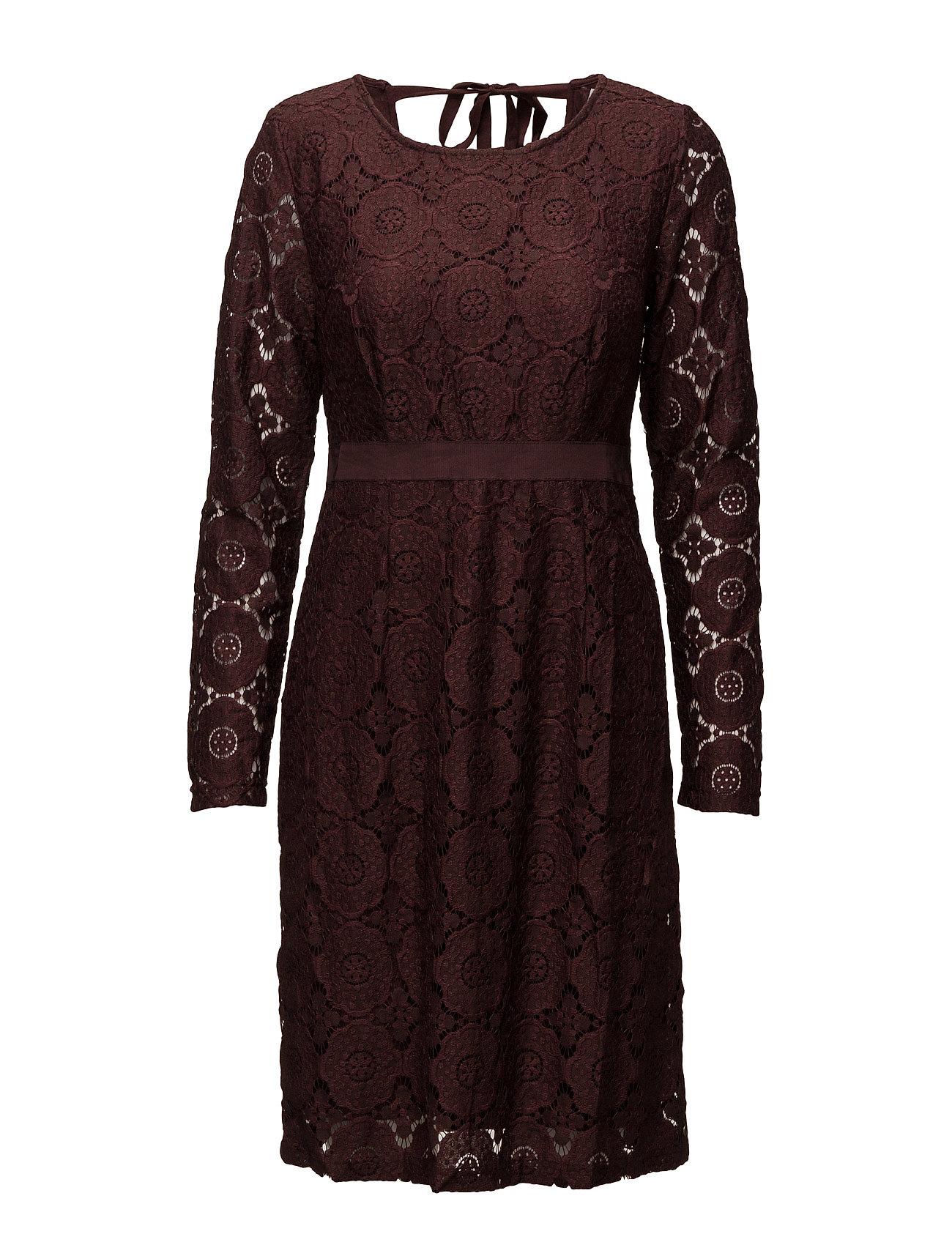 Paloma Dress Cream Kjoler til Kvinder i Clove Brown