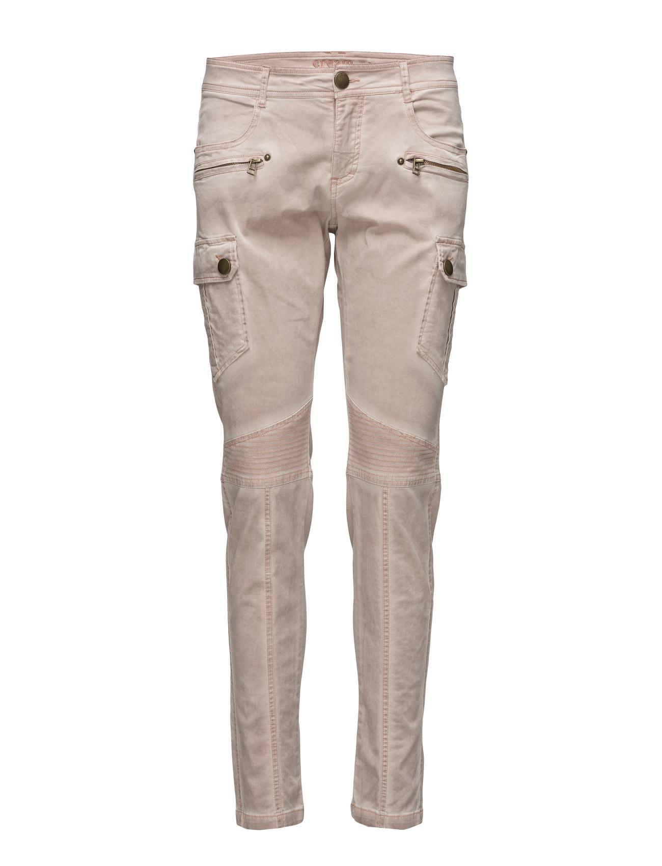 Lis Pants Cream Jeans til Kvinder i Rose Dust