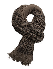 Addy knit scarf - PITCH BLACK