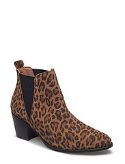 Marlene boot - BROWN ANIMAL