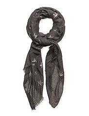 Star scarf - DARK GREY MELANGE