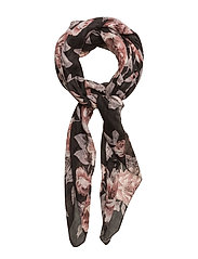 Margrete scarf Gift box - PITCH BLACK