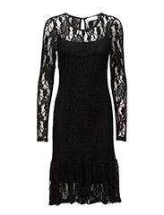 Posey Dress - PITCH BLACK