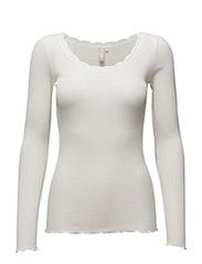 Silky LS T-Shirt - CHALK