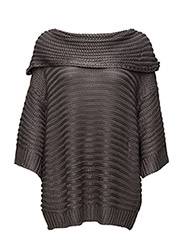 Michelle Knit Pullover - SMOKED PEARL