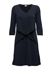 Vilian Dress - ROYAL NAVY BLUE