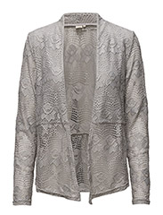 Lianna Lace Cardigan - CLEAR GREY