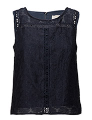 Alessia Top - ROYAL NAVY BLUE