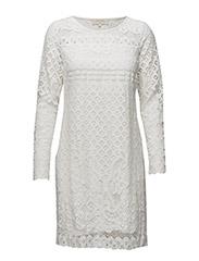Rico dress - KNIT WHITE