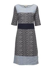 Cassie Dress - ROYAL NAVY BLUE