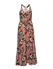 Elpida Dress - SUN BROWN