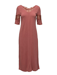 Chima dress - MARSALA RED