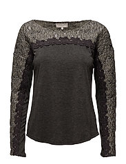 Mynthe Blouse - DARK GREY