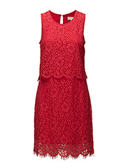 Sia Dress - TRUE RED