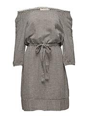 Fiorella dress - PITCH BLACK