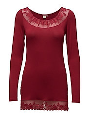 Florence LS Top - RIO RED