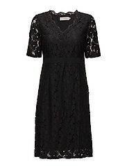 Fabio Dress - PITCH BLACK