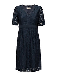 Fabio Dress - ROYAL NAVY BLUE