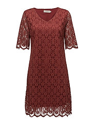 Lulu Dress - BURNT RUSSET