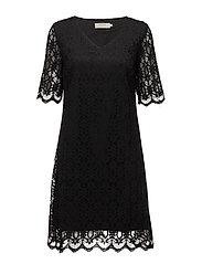 Lulu Dress - PITCH BLACK