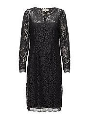 Fie Lace dress - IRON GRAY