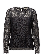 Fie Lace blouse - IRON GRAY