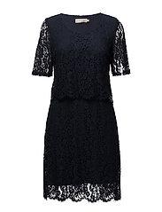 Lara Dress - ROYAL NAVY BLUE