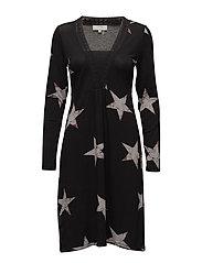 Stacia Dress - DARK GREY MELANGE