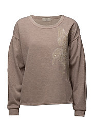 Bellina sweatshirt - MISTY ROSE MELANGE