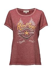 Rocky Tshirt - BURNT RUSSET