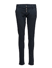 Bailey Twill Pants - ROYAL NAVY BLUE