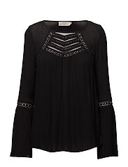 Jolene Blouse - PITCH BLACK