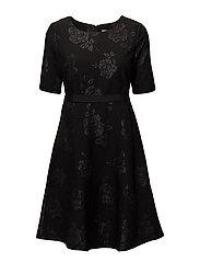Nanda Dress - PITCH BLACK