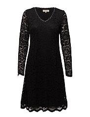 Milla Dress - PITCH BLACK