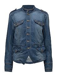 Malou Jeans Jacket - JEANS BLUE