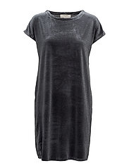 Agnette Dress - TURBULENCE GREY