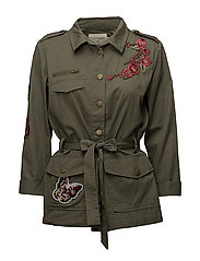 Amy Jacket - DUSTY OLIVE