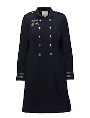 Adele Coat - ROYAL NAVY BLUE