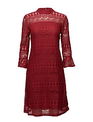 Gina Dress - AMERICAN BEAUTY RED
