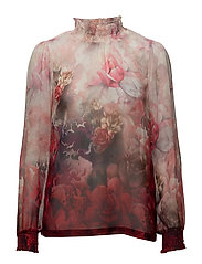 Claudia Blouse - AMERICAN BEAUTY RED