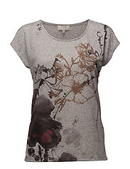 Ally T-shirt - GREY STONE